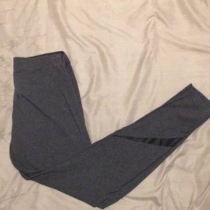 Nike Pants - Gray Nike Logo Athletic Leggings Size S